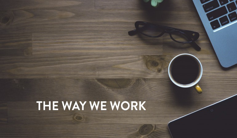 Banner The Way We Work Series 2019 start page